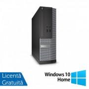 Calculator DELL Optiplex 3020 SFF, Intel Core i5-4570s 2.90GHz, 8GB DDR3, 500GB SATA, DVD-ROM + Windows 10 Home