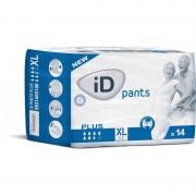 Ontex - ID Pants Pack de 4 sachets de ID Pants XL Plus