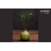 Chehoma Houlle Small green ceramic vase