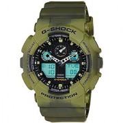 G-Shock Analog-Digital Black Dial Mens Watch - Ga-100Mm-3Adr(G633)