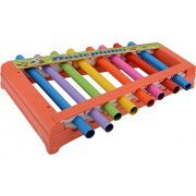 SS TRADERS Multicolor Musical Xylophone With Steel Pipe For Kids Musical Toy With 8 Notes -Kids come down by hearing Music- Excellent Gift for new Borns