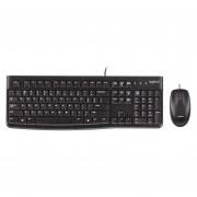 Logitech MK120 Kit de Teclado Logitech + Mouse USB