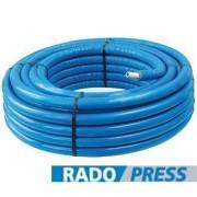 Radopress 20x2mm elõszigetelt PEX-AL-PEX ötrétegû csõ kék