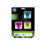 HP Pack 3 Cartuchos HP 363 (CB333EE)