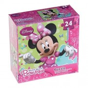 Minnie Mouse Bow-tique Puzzle [24 Pieces] Minnie Mouse with Green Background