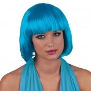 Geen Turquoise boblijn pruik