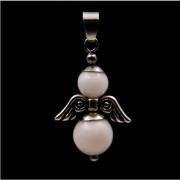 Mangano kalcit angyal medál