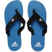 Adidas Eezay Max Out Black Blue Flip-Flops