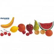 Set 15 fructe din plastic