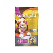 Solid Gold Young At Heart Chicken, Sweet Potato & Spinach Senior Recipe Grain-Free Dry Dog Food, 4-lb bag