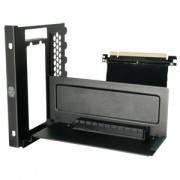 Suport intern Cooler Master pentru montarea verticala a placilor video, cablu Riser inclus, MCA-U000R-KFVK00