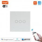 Smart HOME - inteligentný wifi Dotykový vypínač 3 gang Tuya Smart Life