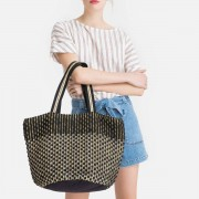 LA REDOUTE COLLECTIONS Zweifarbiger Shopper