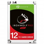 Seagate IronWolf Pro ST12000NE0007 HDD 12 TB interno 3.5 SATA 6Gb s 7200rpm 256Mb con Rescue Data Recovery