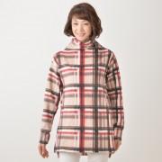 Cuddl Duds ストレッチフリースモックネックプルオーバー【QVC】40代・50代レディースファッション