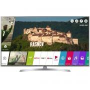 Televizor LED LG 65UK6950PLB, 164 cm, Smart TV, 4K Ultra HD, Bluetooth, Wi-Fi, Argintiu/Negru