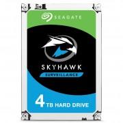 Seagate Segate HDD SkyHawk 4TB 64MB 5.9K 3.5' SATA 3-yr limited warranty