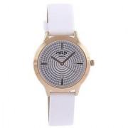 Timex Quartz White Round Women Watch TW022HL08