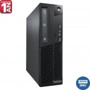 Calculator Lenovo Thinkcentre M70e, Intel Core 2 Duo E8400, 4GB DDR3, 250GB, DVD-RW