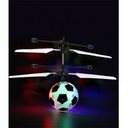 IBUYTOP Flying Ball, Kids Toy, Mini Rc Infrared Helicopter Ball Built-in Shinning Led Lighting for Kids, Teenagers Colorful Flyings Toys(Football)