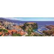 Puzzle panoramic Jumbo - Monte Carlo, Monaco, 1.000 piese (18572)