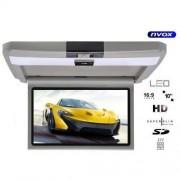 """NVOX VRF1015 GR Monitor samochodowy podwieszany podsufitowy LCD 10"""" cali AV SD 12V"""