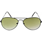 MARC JOHNSONS Aviator Sunglasses(Green)