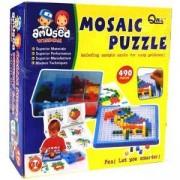 Детски комплект за игра - мозайка квадратни елементи, 514117213
