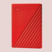 "HDD EXTERNAL 2.5"", 2000GB, WD My Passport, USB 3.2, Red (WDBYVG0020BRD)"