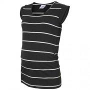 MAMALICIOUS gestreept zwangerschaps T-shirt Ally grijs