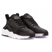 Nike Air Huarache Run Ultra W - scarpe da ginnastica - donna - Black/White