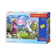 Puzzle Prietenul meu Unicornul, 180 piese