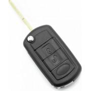 Carcasa cheie tip briceag 3 butoane Land Rover negru
