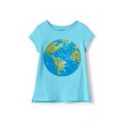 Lands' End Verziertes Grafik-T-Shirt aus Baumwolle für kleine Mädchen - Sonstige - 98/104 von Lands' End