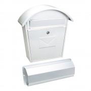 Rottner Aosta Set postaláda újságtartóval (fehér)