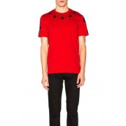 Givenchy Star Collar Tee in Red. - size S (also in L,M,XL,XS)