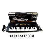 Синтезатор Bigfun 37 клавиш, запись, микрофон, черный, батарейки в комплект не входят,в коробке
