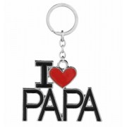 I Love PAPA kulcstartó