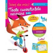 ISTET DE MIC - TOATE CUNOSTINTELE NECESARE 5-6 ANI - CORINT (JUN982)