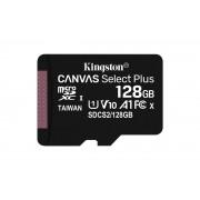Kingston Canvas Select Plus - Flash-minneskort - 128 GB - A1 /