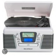 Ricatech Home entertainment - Platenspelers RMC100 - Wit