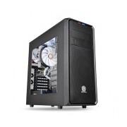 Gabinete Thermaltake Versa H35 con Ventana, Midi-Tower, ATX/micro-ATX/mini-iTX, USB 3.0, sin Fuente, Negro