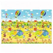 Детски килим Playground - 140 x 100 x 1.2 cm - с две лица