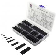 Set tuburi termocontractabile 3:1, negru, 100 piese, Tru Components 30S012