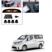 Auto Addict Car Black Reverse Parking Sensor With LED Display For Nissan Evalia