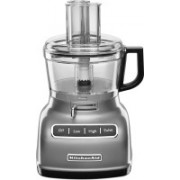 KitchenAid 7-Cup Food Processor with ExactSlice System Contour Silver (KFP0722CU) 500 W Food Processor(Contour Silver)