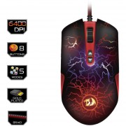 Redragon LAVAWOLF M701 Gaming Mouse Alámbrico