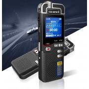 Premium Digitale Recorder - Premium Voice Recorder - Multifunctionele Voice Recorder - Dictafoon 16 GB - Audio Memo Recorder Met USB - Spraak Recorder - Sound – Geluid Recorder - Opname Apparaat - Met MP3 Speler Functie – Zwart