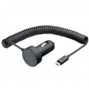 Nokia Car Charger DC-17 Micro-USB - зарядно за кола за Nokia мобилни телефони