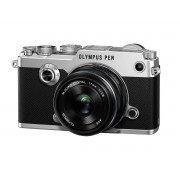 Olympus PEN-F + 17mm F/1.8 - Argento - 2 Anni Di Garanzia